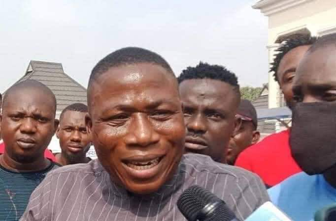 Uncertainty, Protest as Court fails to hear Sunday Igboho's Extradition case Benin