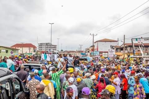 Exultant rally for Aketi as Ondo agog over Supreme Court's Verdict