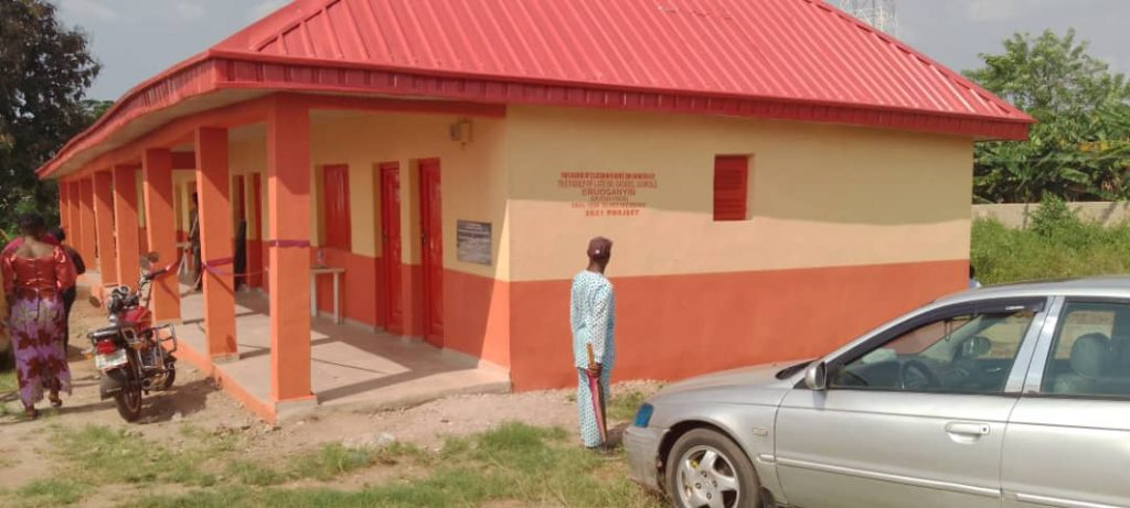 25th Remembrance of Mr Gabriel Bankole Eruosanyin: Children donate Classrooms to Govt's Pry School, Ifon