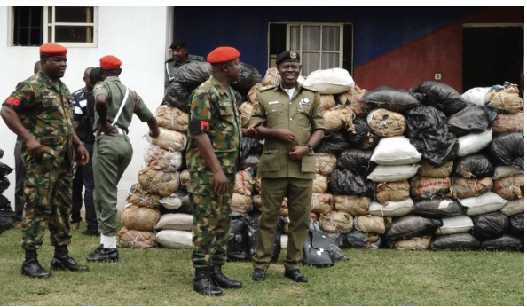 How we intercepted Two 'Policemen' with Indian hemp in Ondo —Army
